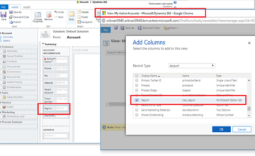 'Multi-Select Option Set' Dynamics 365 July 2017 Update